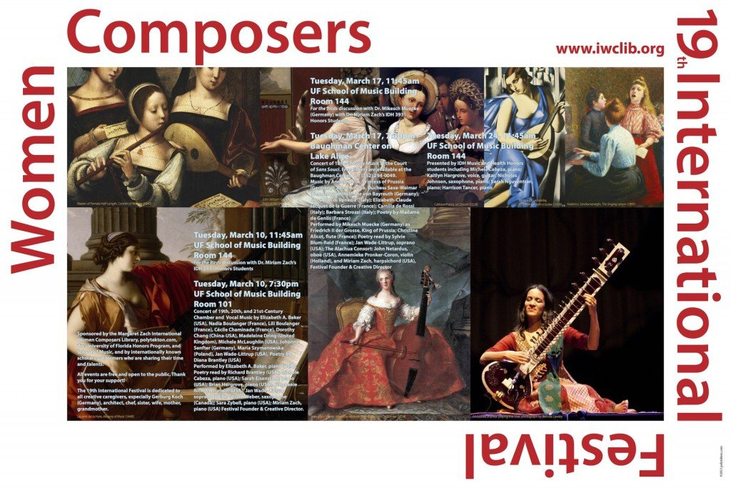 19th International Festival of Women Composers