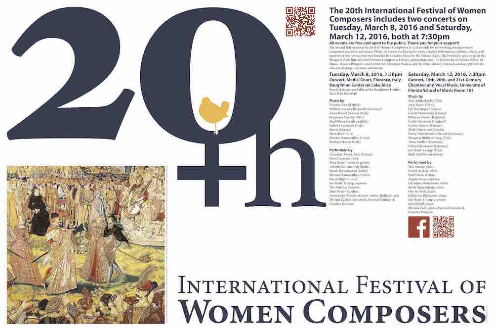 20th International Festival of Women Composers