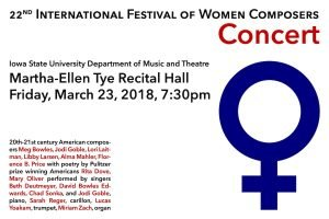 22nd International Festival of Women Composers