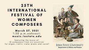 25th International Festival of Women Composers